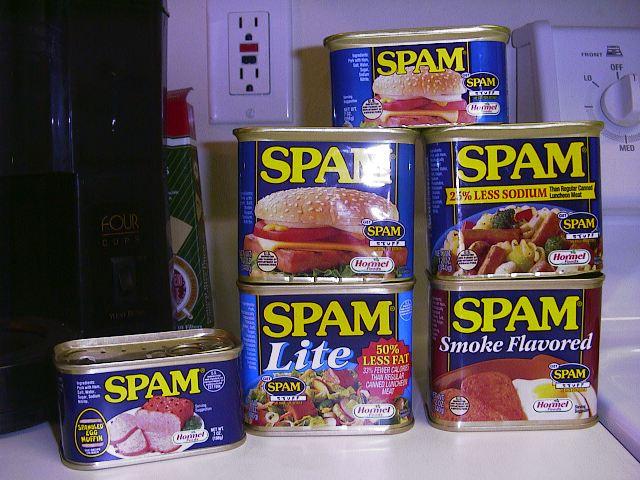 http://www.kt.rim.or.jp/~ksk/spam/spamcans.jpg