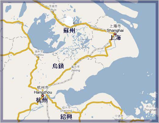 中国 蘇州 地図